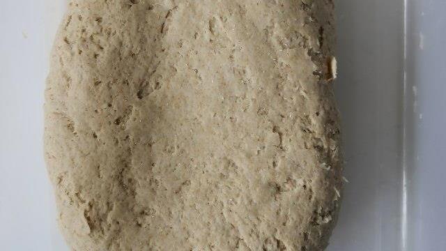 豆腐韭菜全麦包子,味道鲜美,皮包馅儿大