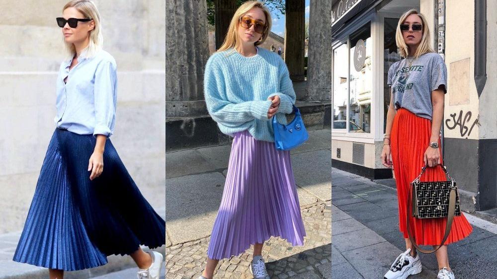 运动鞋怎么搭配裙装!时尚达人造型示范教你6种裙装搭配方式