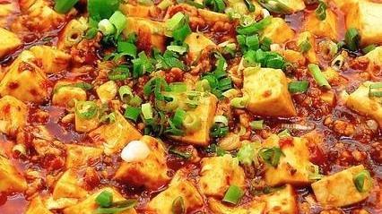 牛肉渣渣麻辣豆腐|麻,不见花椒;辣,不见辣椒
