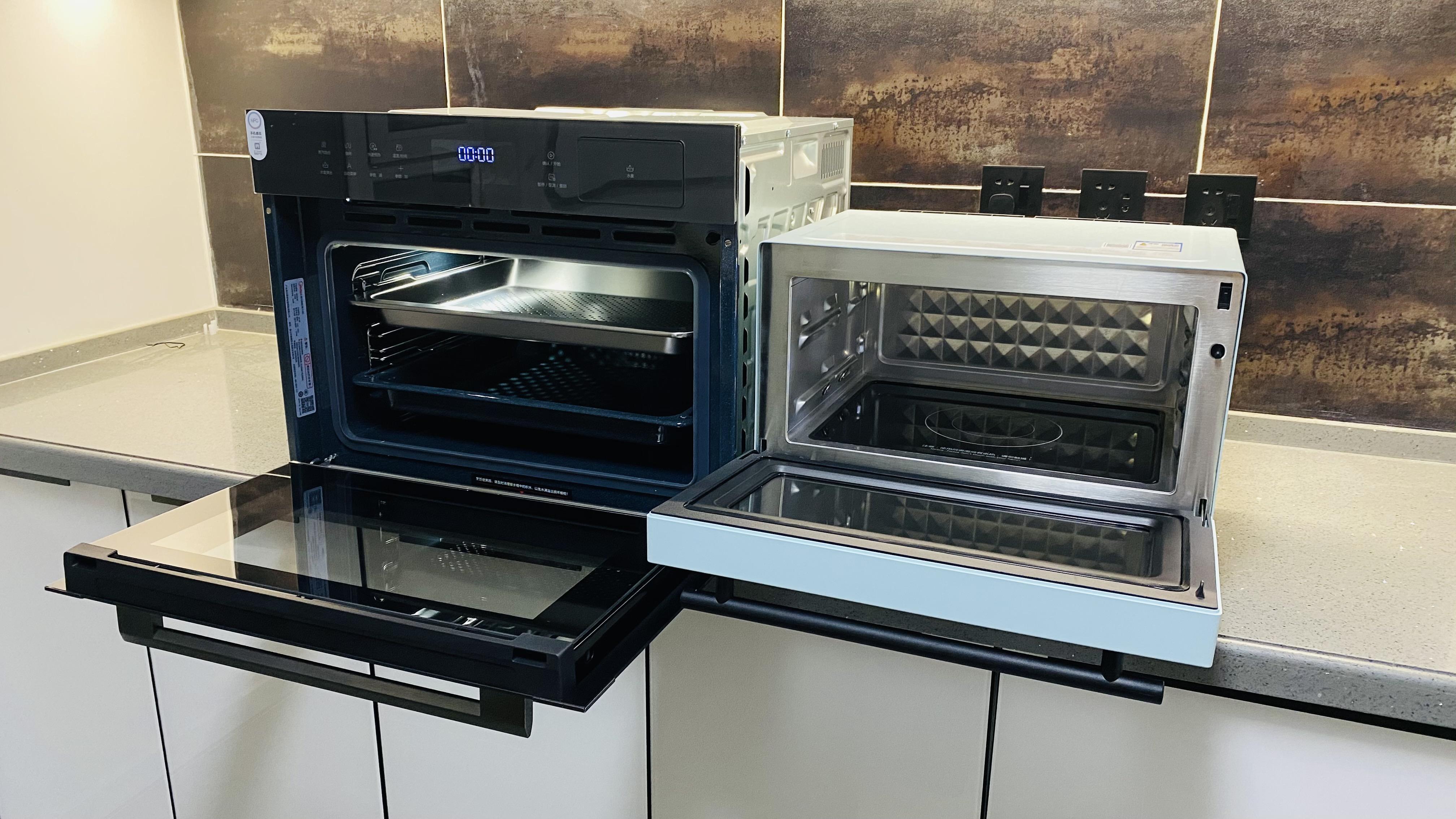 台面式VS嵌入式,6000字详解哪种蒸烤箱更适合你