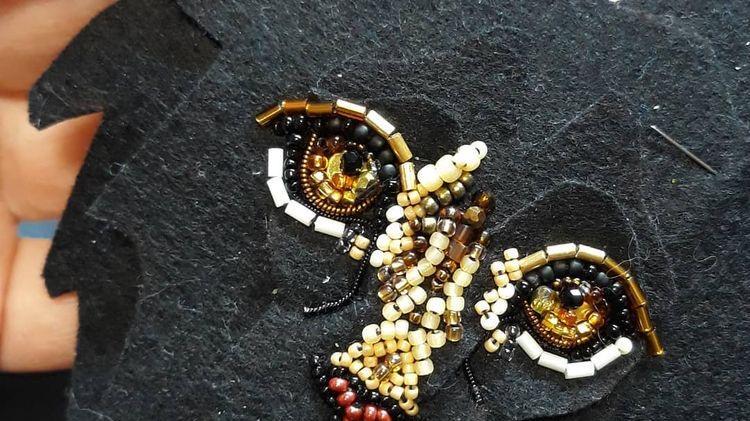 梵芮锦法式刺绣分享--老虎包