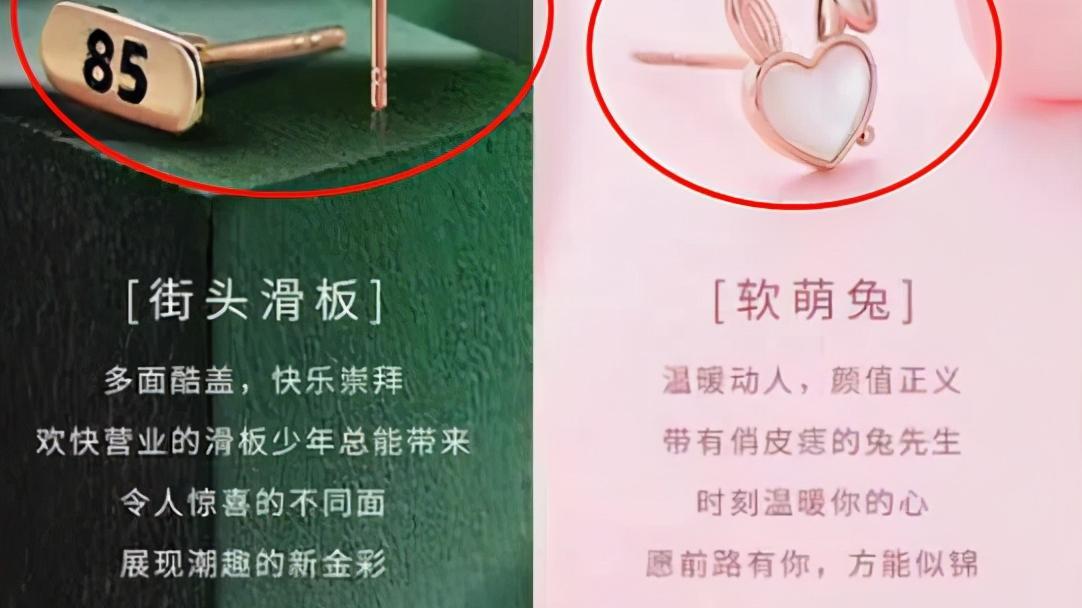 """曝某珠宝蹭博君一肖热度:兔子加头盔滑板,耳钉形状酷似""""肖战"""""""