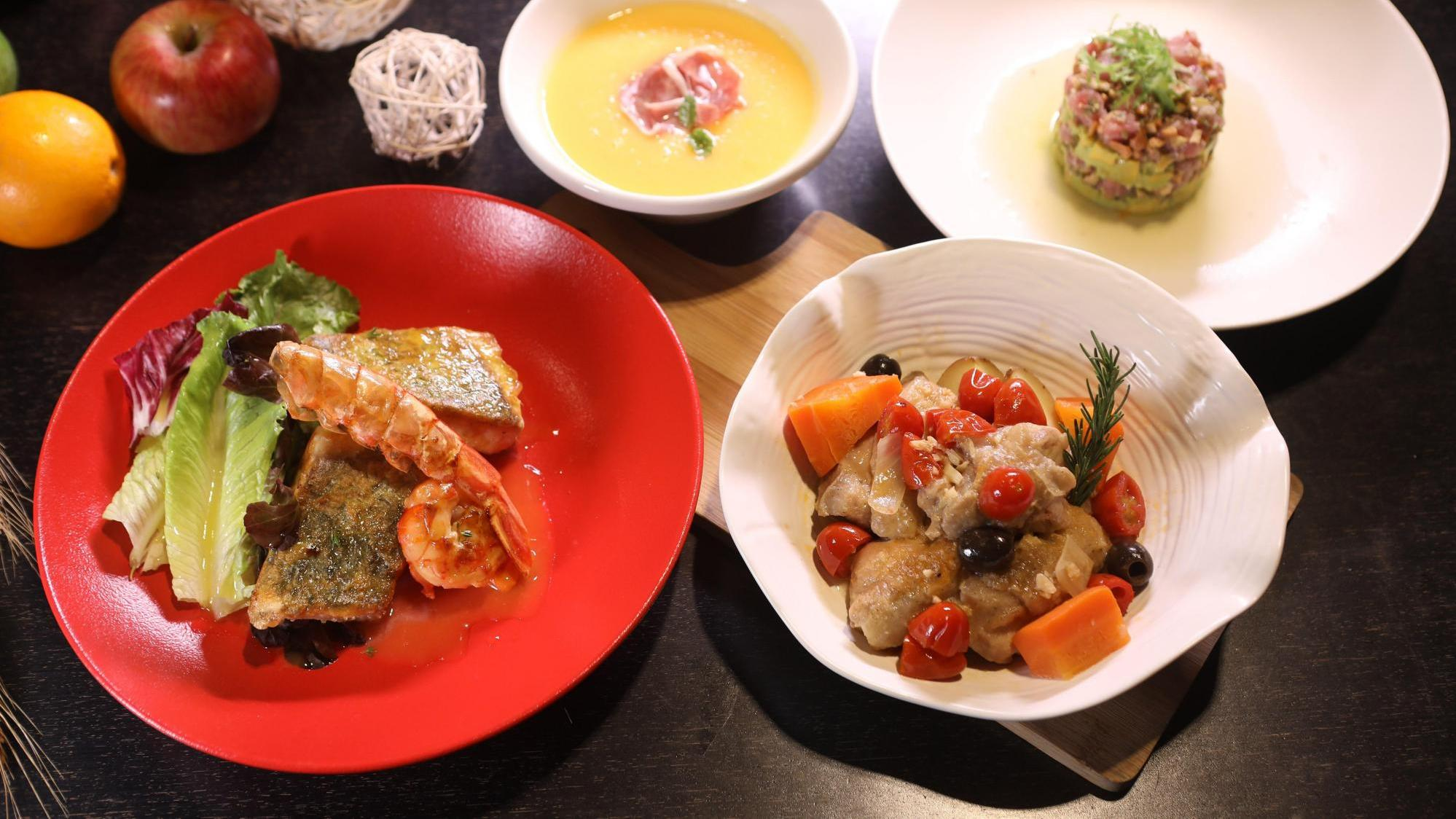 名厨三菜一汤|宴客蔬果大餐有面子,鲔鱼塔塔、哈密瓜冷汤挑动味蕾
