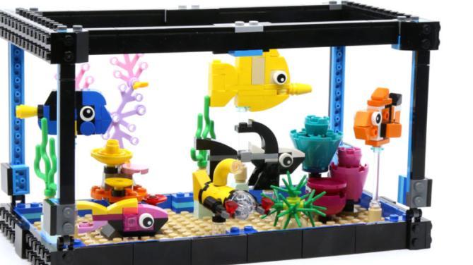 海底总动员?乐高创意百变三合一套装31122鱼缸评测