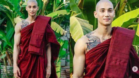僧袍,盛景缅甸,网友,中国,和尚,大众