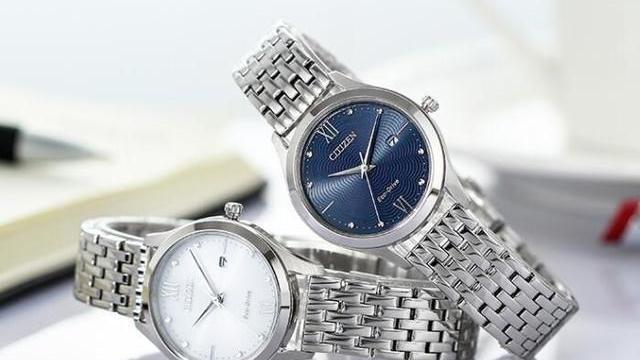 推荐一款西铁城莹润贝母盘女士光动能手表,想买手表的朋友可关注