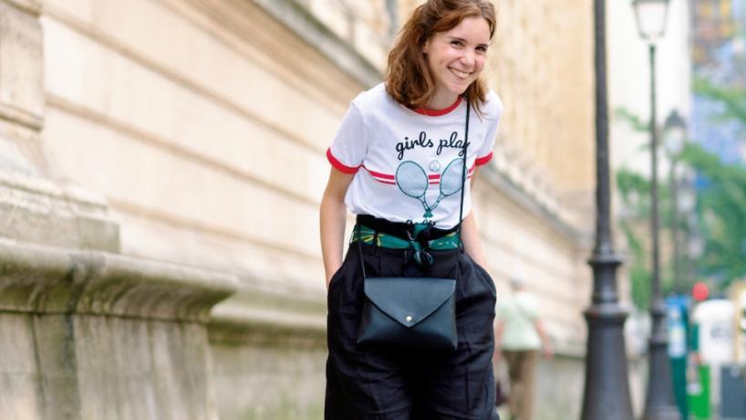"""巴黎""""素人""""才是真会穿,街头随意一个镜头,都超级随性优雅"""