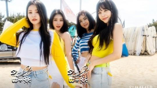 "Brave Girls,完美消化泳装时尚的""夏季女王"""