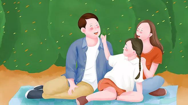 心理学,父母孩子,表达情感的,的情感,情绪,父母