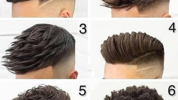 为什么你的发型总是不够帅?看看这十几款,两侧铲短就是不一样
