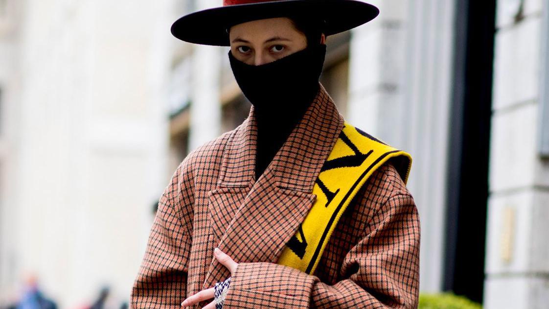 领子,围巾围巾,字母,彩虹,颜色,外套