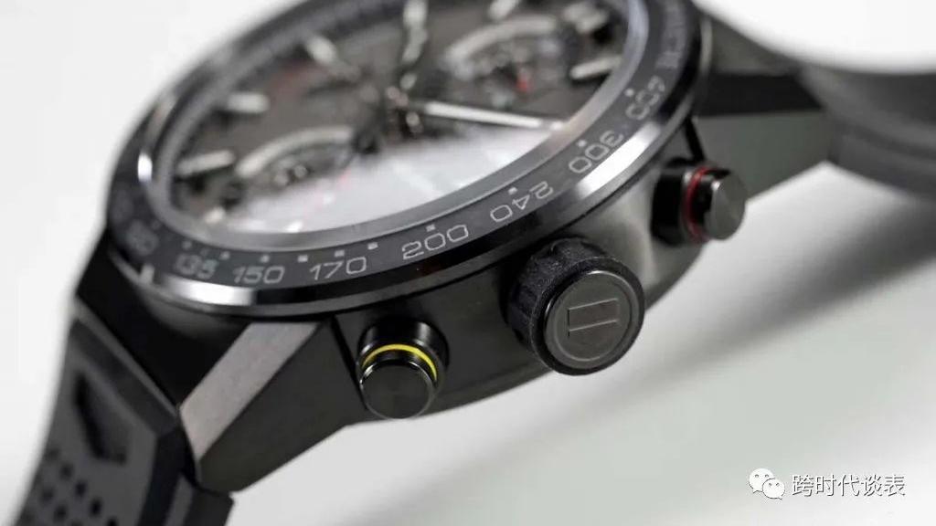 XF泰格豪雅卡莱拉CALIBRE HEUER01月球表面复刻腕表对比原装图文评测