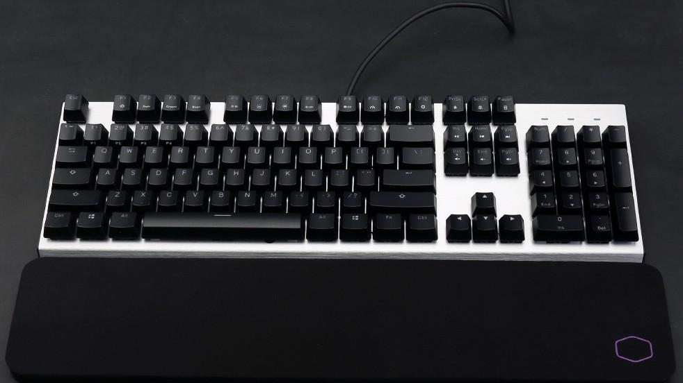 酷冷至尊CK351光轴键盘评测:防尘防水响应快