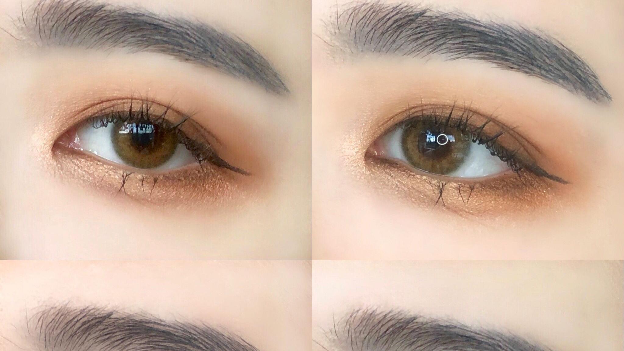 职场女强人气势妆vs职场新人淡妆!大地色眼影浓淡两种画法一次学