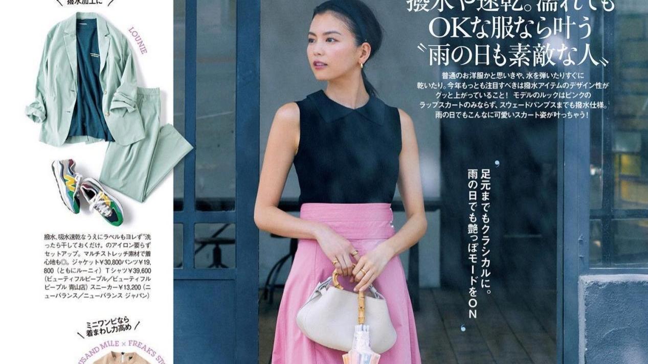 夏装搭配的时髦法则,只需要这十套配色方法,时尚减龄又显白