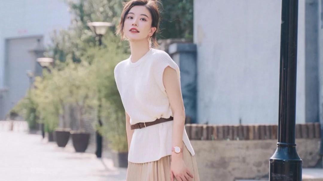 """温柔优雅的""""百褶裙"""",长款显身材短款有活力,精致时尚更有气质"""