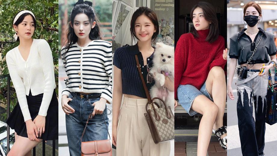 秋季毛衣如何穿得甜美复古和优雅?古力娜扎、赵露思6套穿搭超美