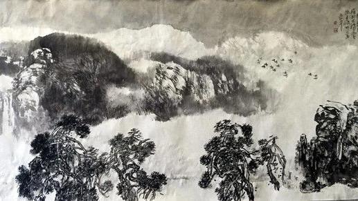 翰墨,华章中国画,艺术,画院,中国,天津
