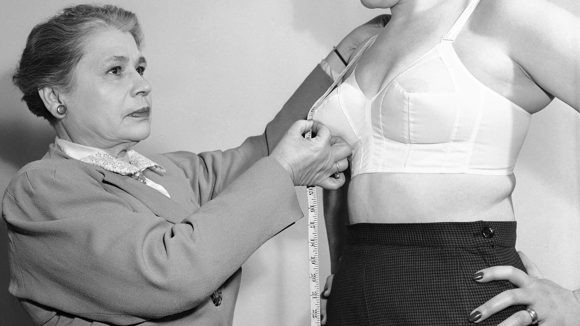胸罩,效果胸罩,胸部,内衣,女性,穿着