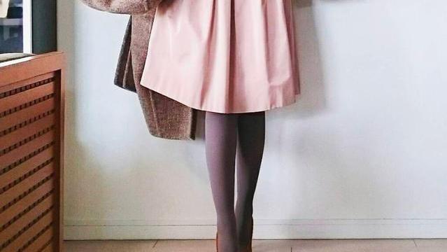 日本,主妇气质,毛衣,长裤,外套,日本