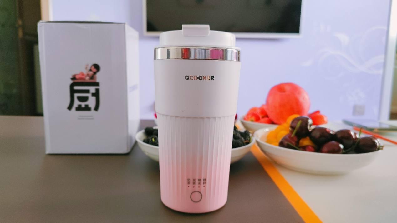 圈厨网红奶茶杯,操作简单方便携带,想喝什么口味自己做主