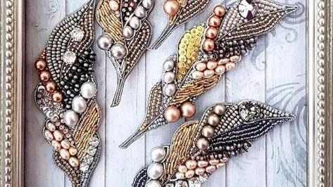梵芮锦手工刺绣分享-作品