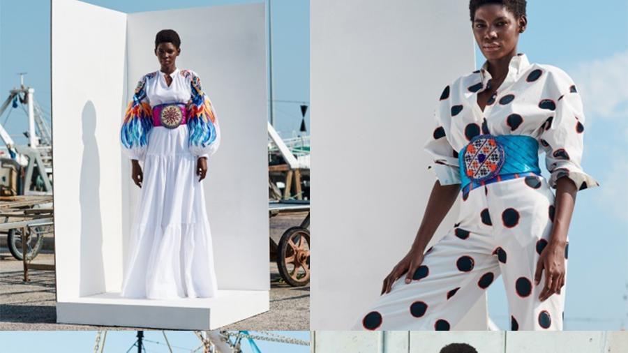 Stella Jean 2021春夏,多种元素的混合,鲜艳印花更时髦