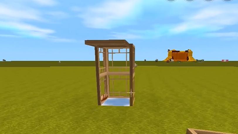 迷你世界:三步制作木质烤箱,颜值高无污染,小猪进去秒变猪排