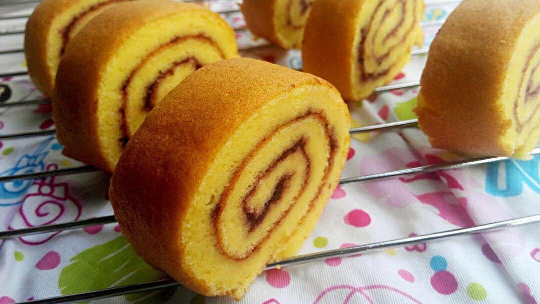它虽然不如普通蛋糕,但是它的口感相当有弹力,简单易做又方便