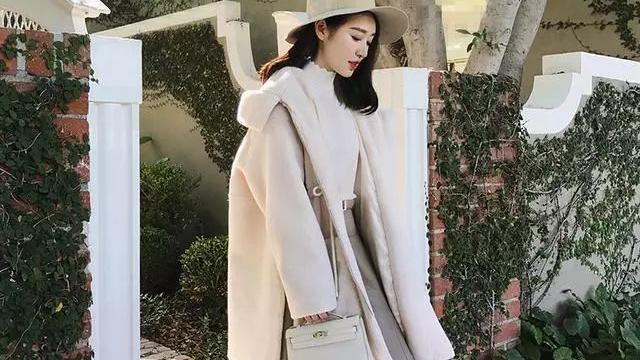 保暖显瘦羊绒大衣 再不买迟了