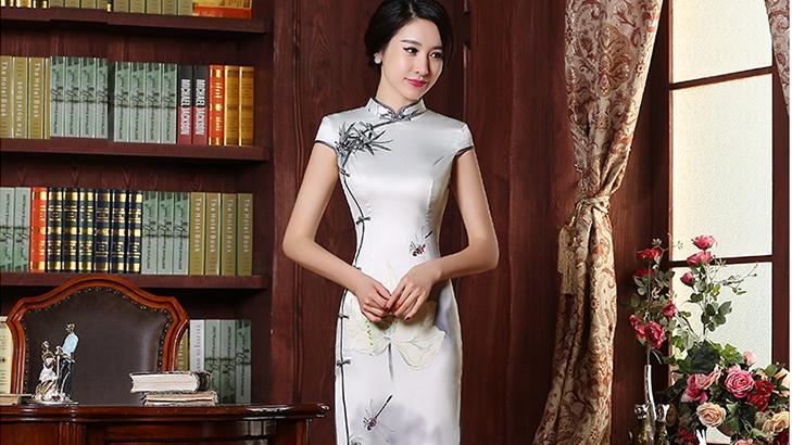 一袭雅韵旗袍,一起邂逅东方的典雅婉约之美,做时尚大气的女人