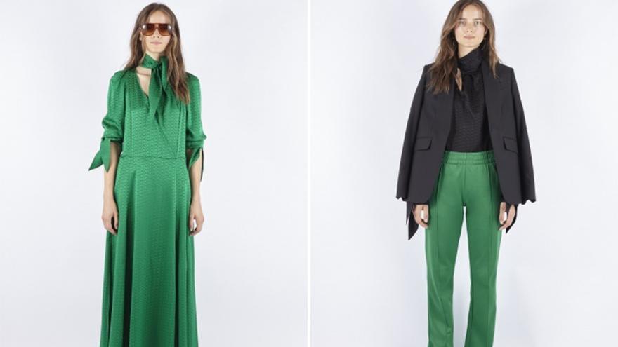 Zadig & Voltaire 2021春夏,休闲的职业风,西服+牛仔裤的时尚