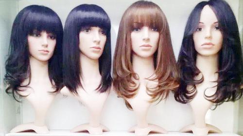 专卖店女式中老年真发头套哪里更好?