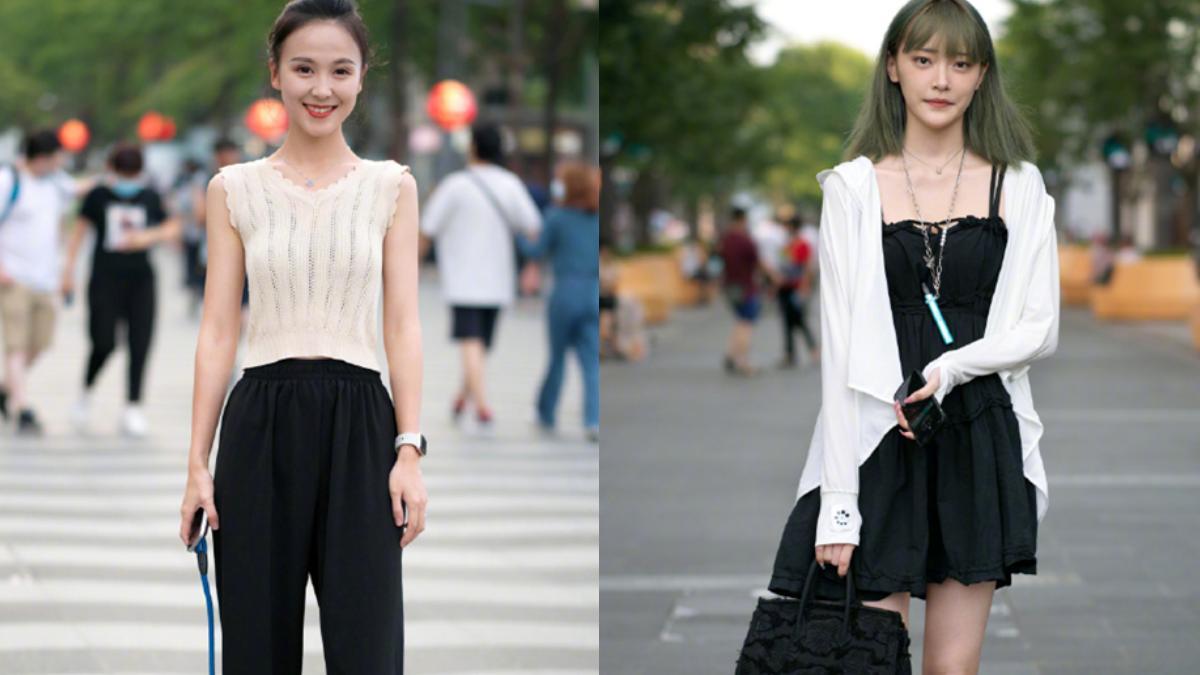 """黑白配过时了,试试这几组""""彩色穿搭"""",时髦又显白,黄皮也能穿"""