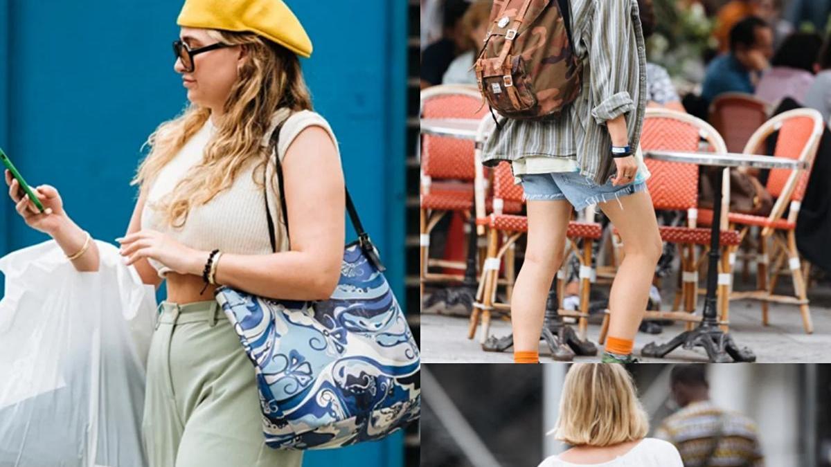 """太真实的巴黎路人街拍,没有""""大红唇+高跟鞋"""",个矮腿粗也时髦"""