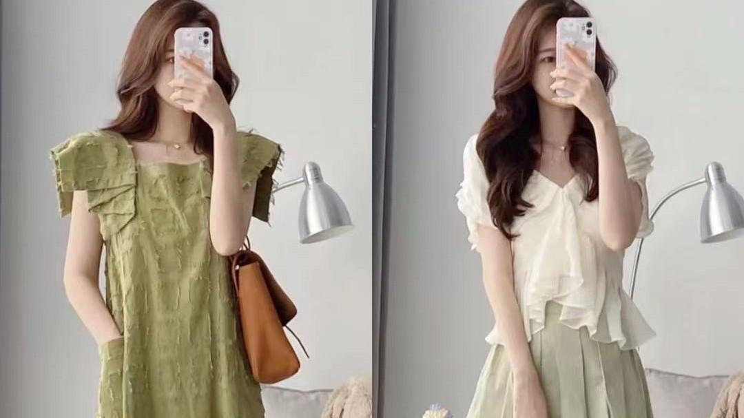 这才是温柔女人秋季该有的穿搭,玛丽珍鞋子+裙子,复古唯美