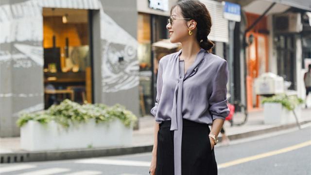 女人过了40岁,阔腿裤这样搭配,不仅显气质,还能拉高腰线特显瘦