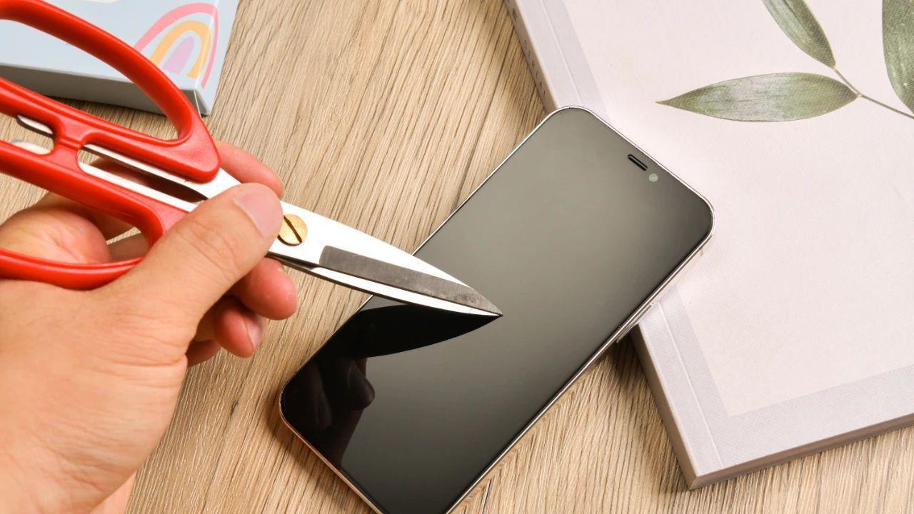 医用认证掌护iPhone 12 Pro儿童护眼钢化膜试用