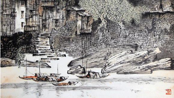 翰墨,华章情感的,和情感,情感的色彩,艺术,中国画