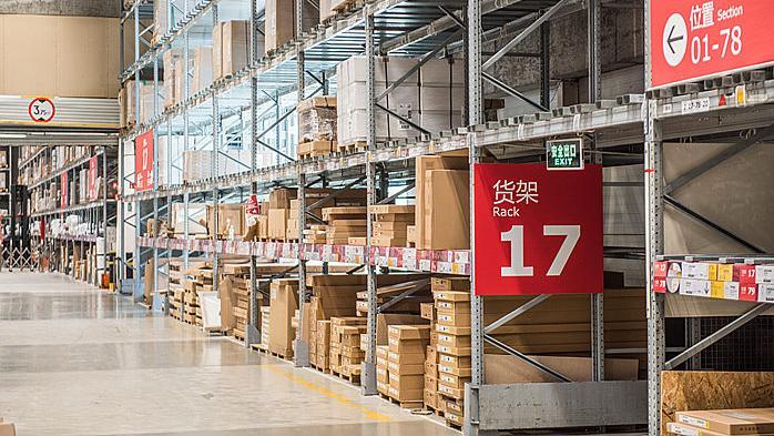 渠道仓库,消费者,商品,价格,快递