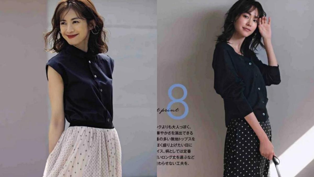 40岁女人别只穿裤子,半身裙的百变搭配方式,总有一款适合你