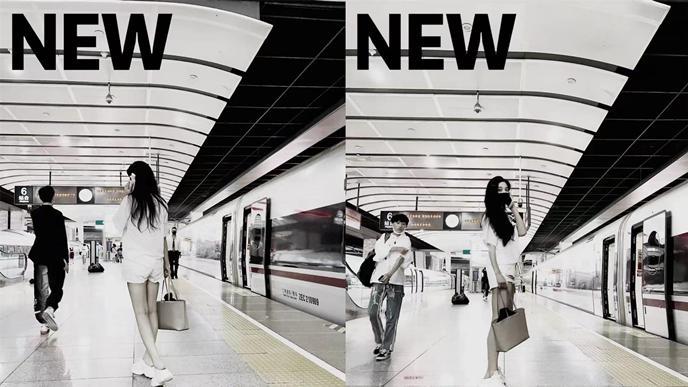 范冰冰罕见坐高铁,穿热短裤被点名嫌太短,秒回应不穿背心情商高