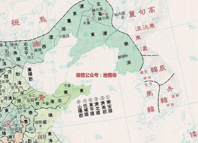 韩国历史上统治过中国吗? 看地图说话#uc订阅号