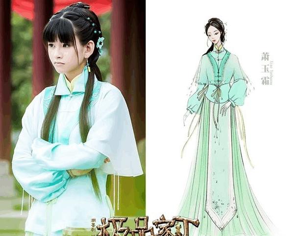 在时尚界备受好评的中国著名服装设计师兰玉,继《分手合约》中为