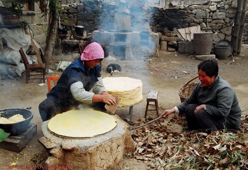 童年记忆,山东老家的大煎饼 - 智慧农夫 - 智慧农夫
