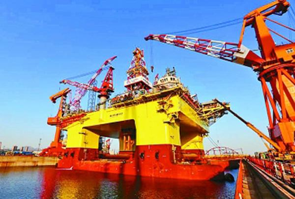 """央视高度关注: 中国""""海洋石油""""982开工!"""