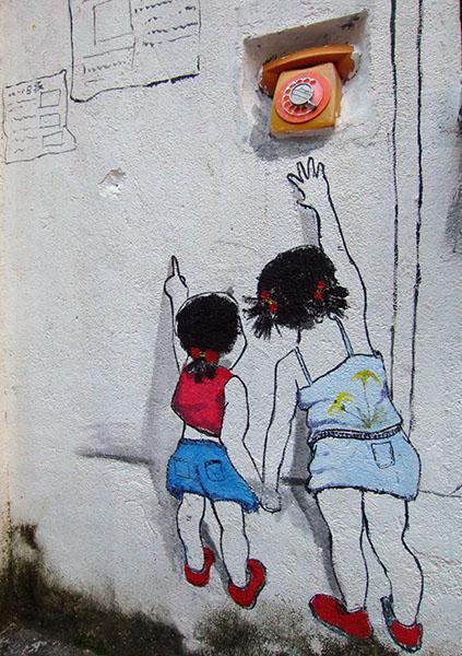 房 漳州侨村 简笔画与实物完美融合 艺术效果亮瞎你的眼 互联网新闻