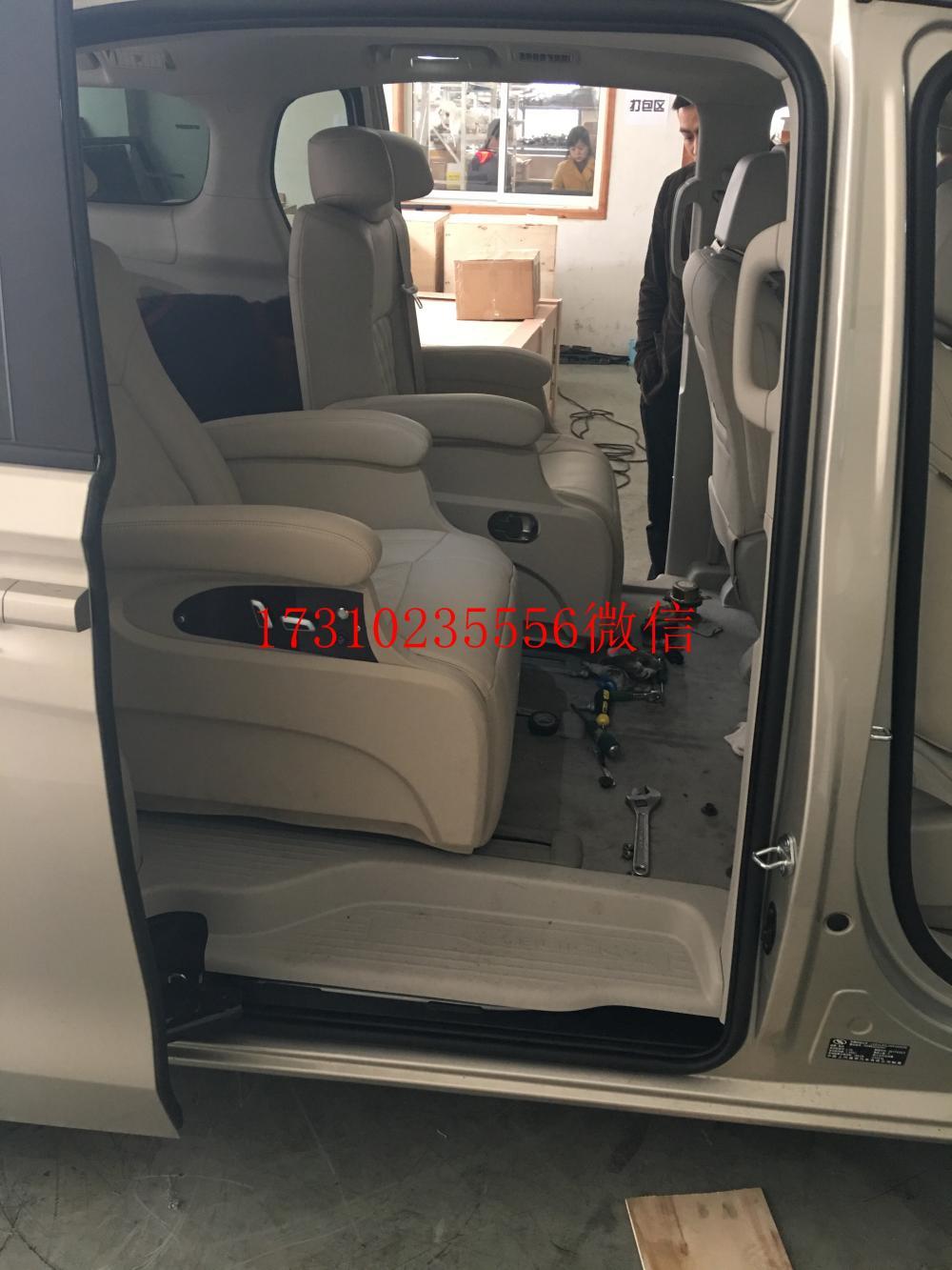 新款别克GL8改装航空座椅多少钱高清图片