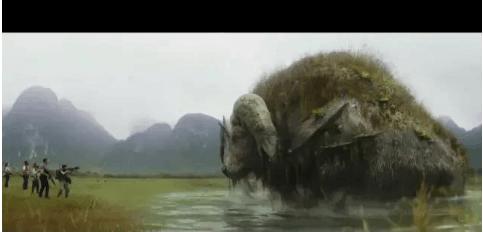 金刚骷髅岛, 景小姐的存在