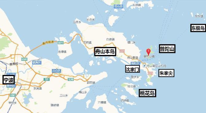 旅游景点数不胜数,代表为 普陀山,十里金沙,朱家尖旅游区,沈家门渔港